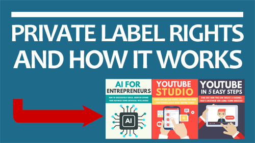 How Private Label Rights Works