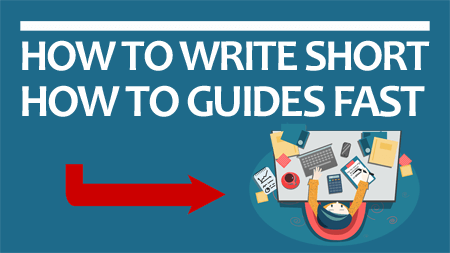 how to write how to guides