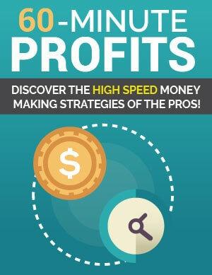 60 Minute Profits PLR eBook