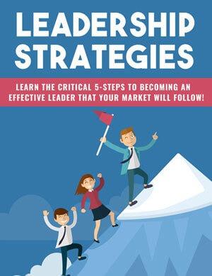 Leadership Strategies PLR eBook