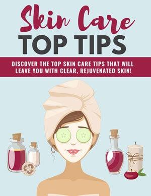 Natural Skin Care Tips PLR eBook