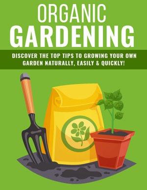 Organic Gardening Tips PLR eBook