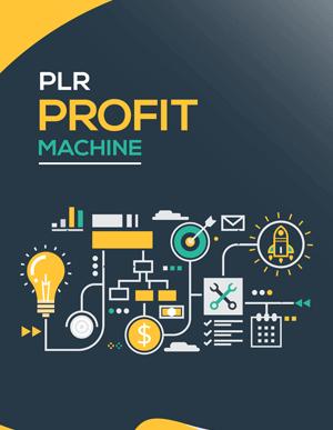 PLR Profit Machine PLR eBook