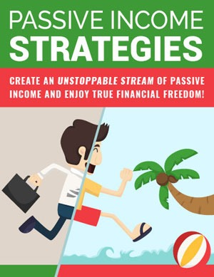 Passive Income Strategies PLR eBook