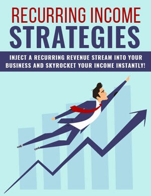 Recurring Income Strategies PLR eBook