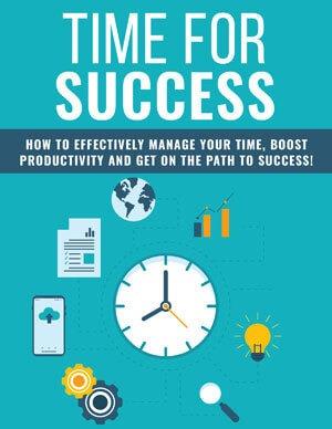 Time For Success PLR eBook