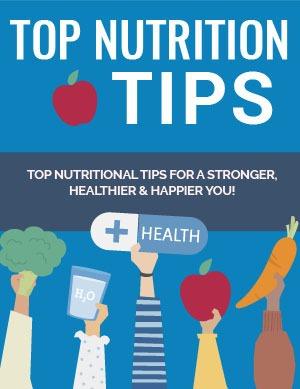 Top Nutrition Tips PLR eBook