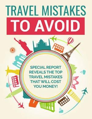 Travel Mistakes To Avoid PLR eBook