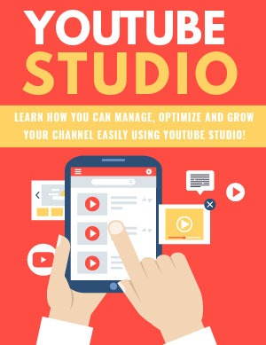 YouTube Studio PLR Product
