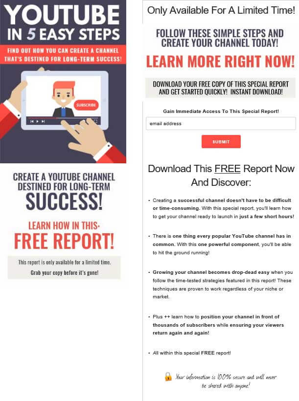 YouTube-in-5-Steps-PLR-Squeeze-Page