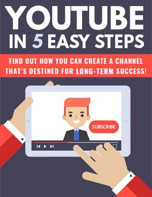 Youtube In 5 Easy Steps PLR Product