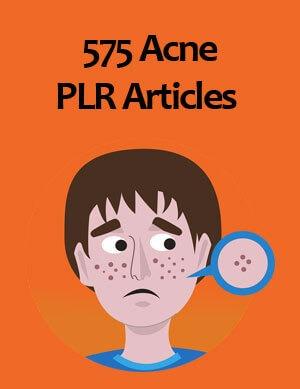acne plr articles