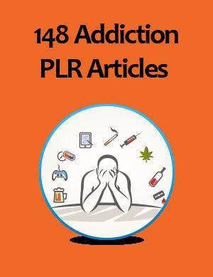addiction plr articles
