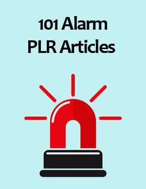 alarm plr articles