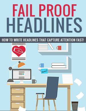 Fail Proof Headlines PLR eBook