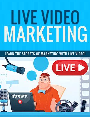 Live Video Marketing PLR eBook