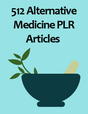 alternative medicine plr articles