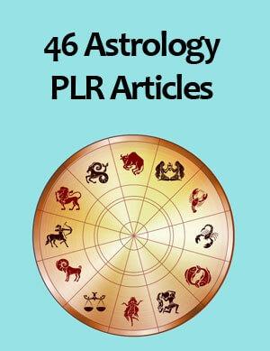 astrology plr articles