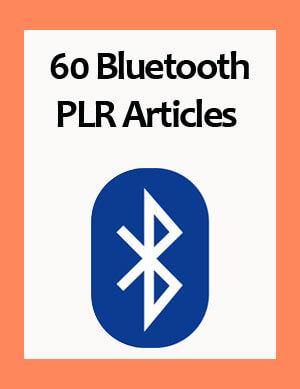 bluetooth plr articles