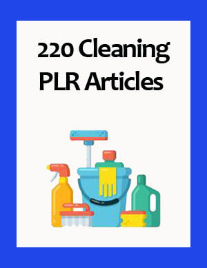 cleaning plr articles