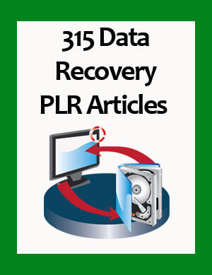 data recovery plr articles