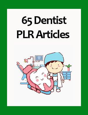dentist plr articles
