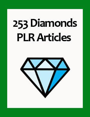 diamonds plr articles