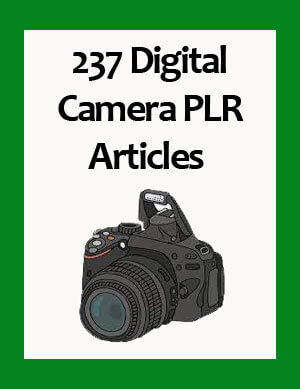 digital camera plr articles