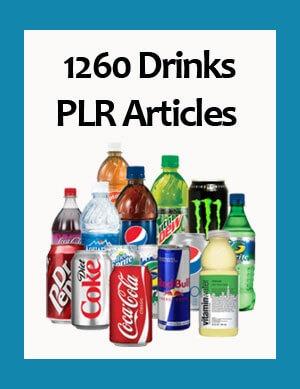 drinks plr articles