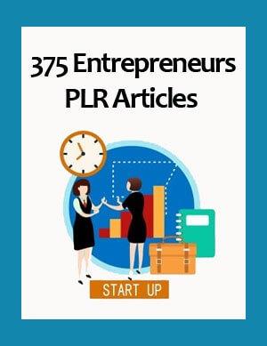 entrepreneurs plr articles