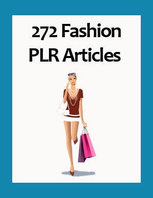 fashion plr articles