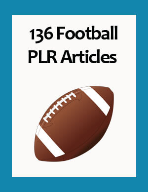 football plr articles