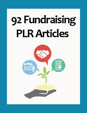 fundraising plr articles