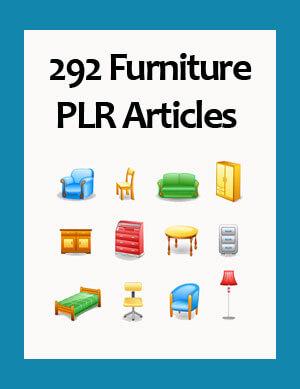 furniture plr articles
