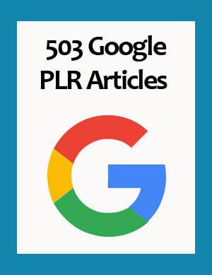 google plr articles
