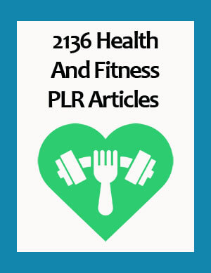 health and fitness plr articles