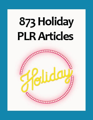 holiday plr articles