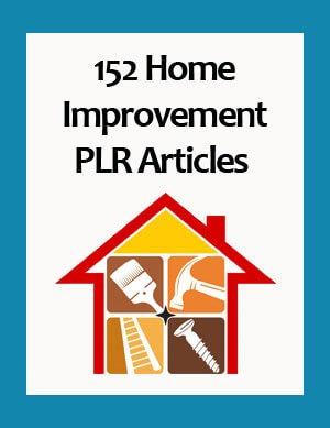 home improvement plr articles