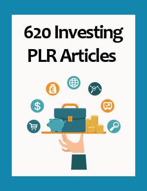 investing plr articles