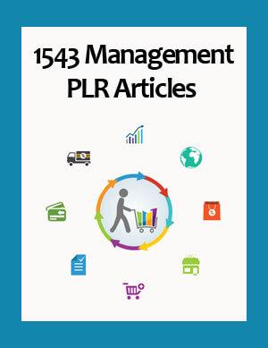 management plr articles