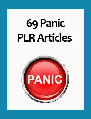panic plr articles
