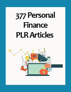 personal finance plr articles