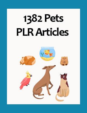 pets plr articles