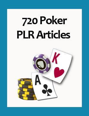 poker plr articles