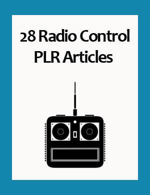 radio control plr articles