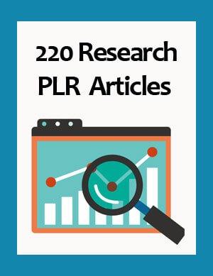 research plr articles