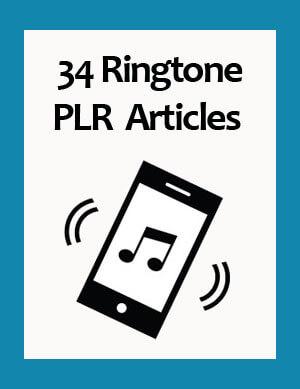 ringtone plr articles