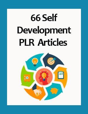 self development plr articles
