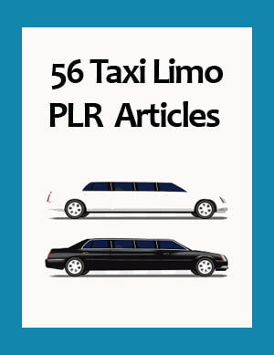taxi limo plr articles