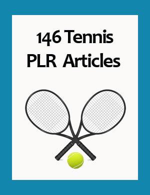 tennis plr articles